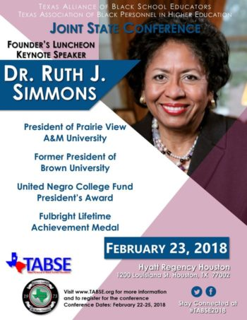 General Keynote - Dr. Ruth Simmons