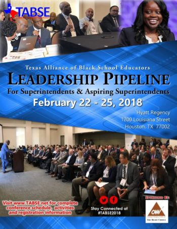 TABSE Leadership Pipeline for Supts. and Aspiring Supts - 2018 TABSE Joint Conference