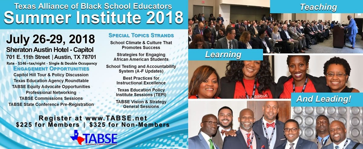 TABSE Summer Institute 2018