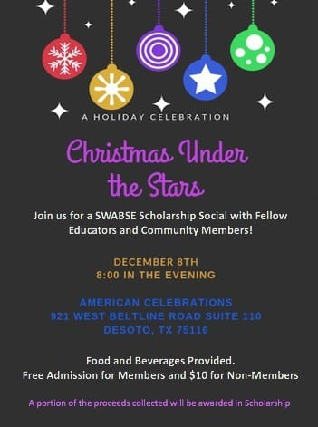 SWABSE Christmas Under The Stars