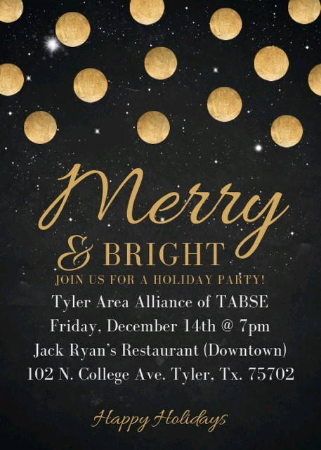 Tyler Merry and Bright Holiday Party