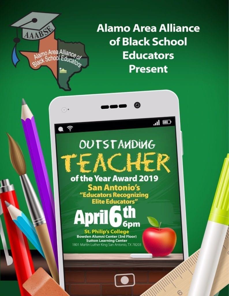 Alamo Area ABSE - Teacher of Year 4-6-19