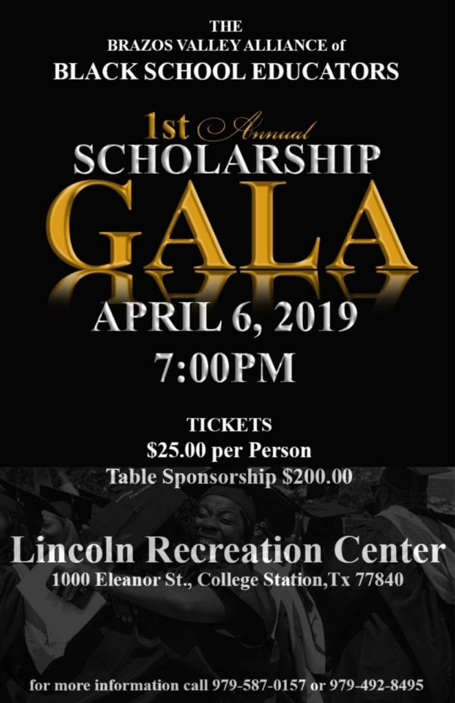 Brazos Valley Alliance BSE Scholarship Gala