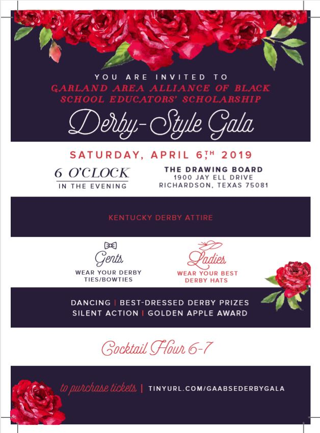 Garland AABSE Derby Style Gala