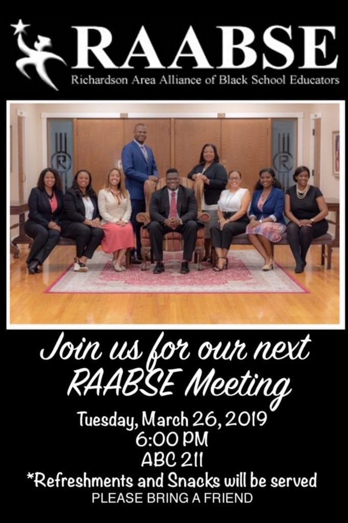 RAABSE Meeting - 3-26-19