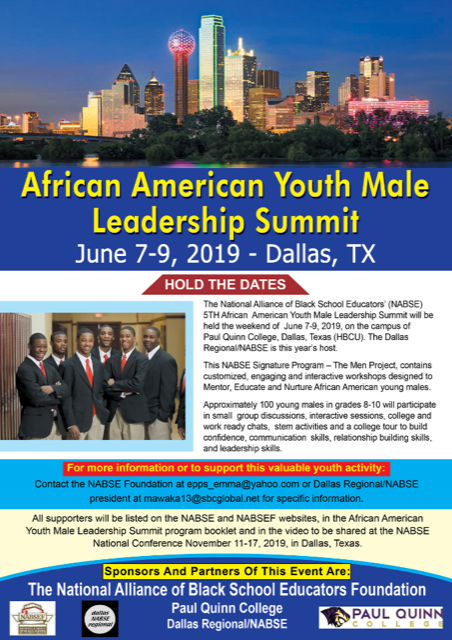 African American Youth Male Leadership Summit