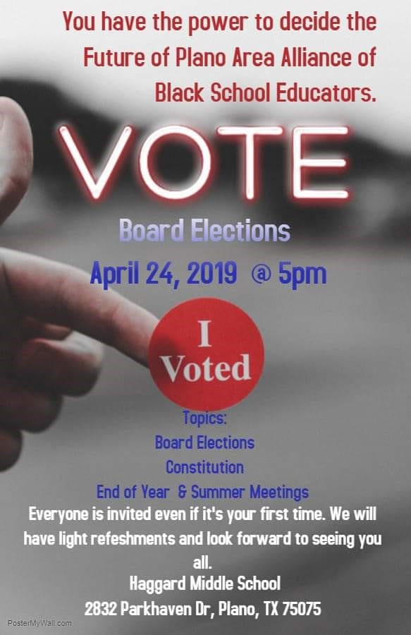 Plano AABSE - Board Elections