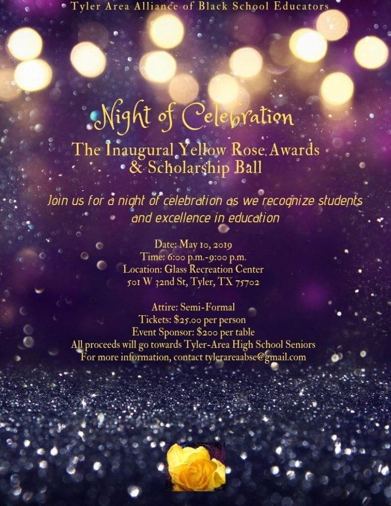 TYLER AABSE Night of Celebration May 10th 2019