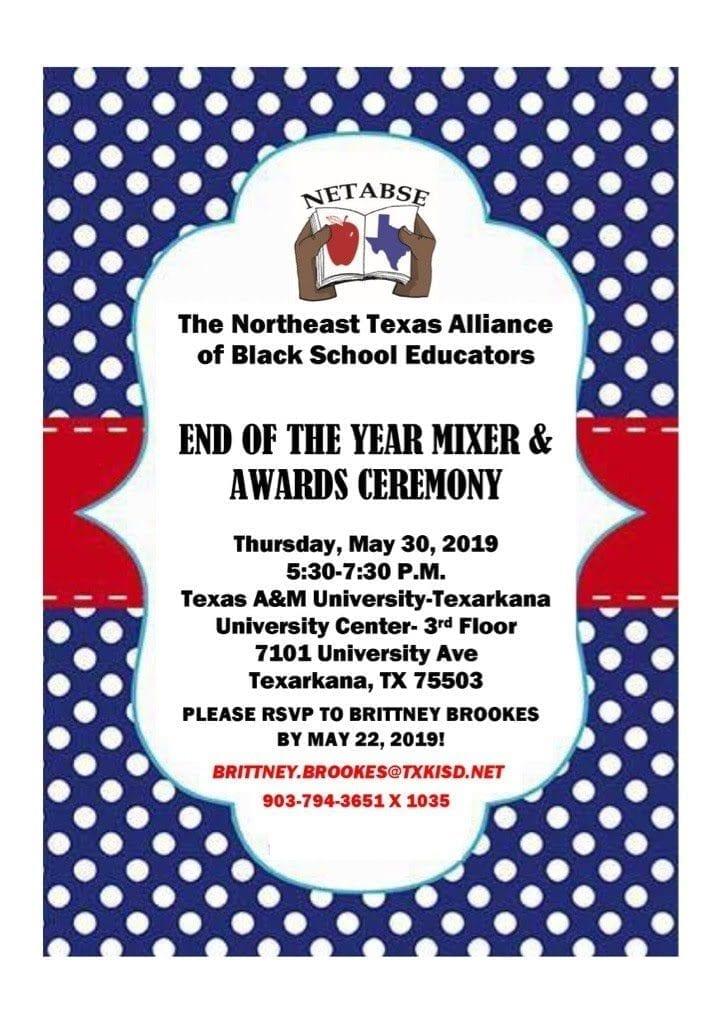NETABSE EoY Mixer and Awards Ceremony