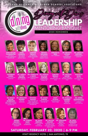 Dining with Divas leadership Mentoring Banquet