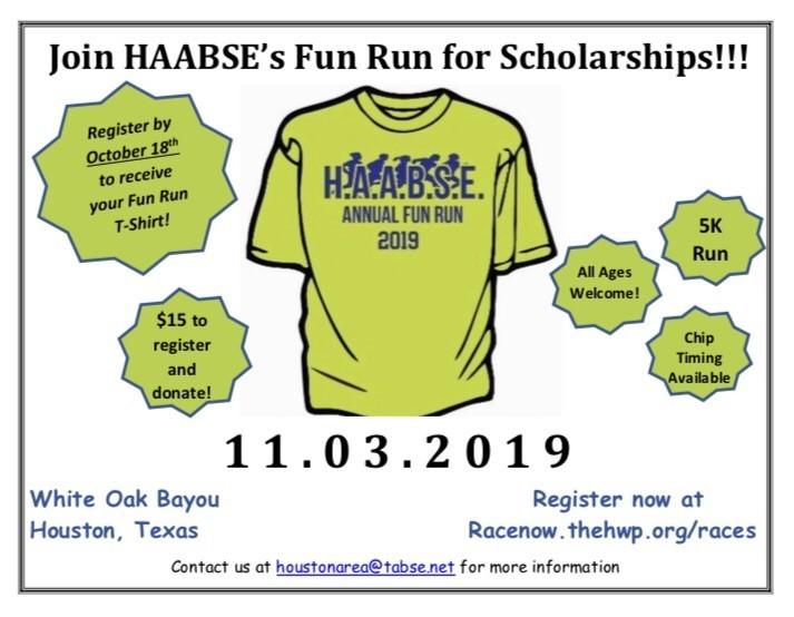 HAABSE's Fun Run for Scholarships