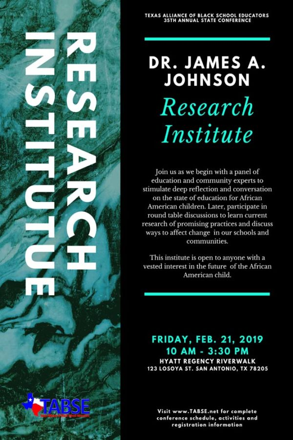 Dr. James A. Johnson Research Institute 2020