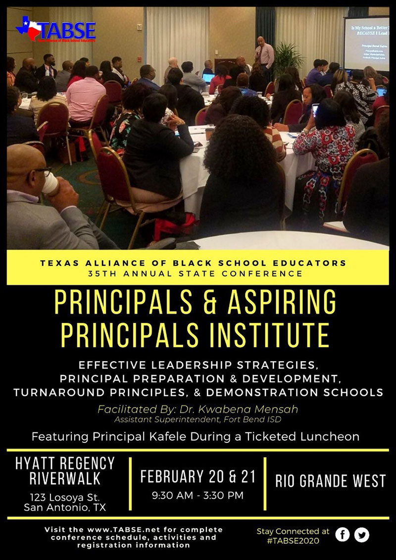 Principals and Aspiring Principals Institute
