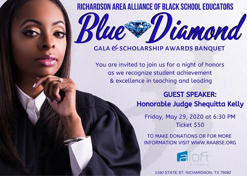 RAABSE Blue Diamond Gala - May 29