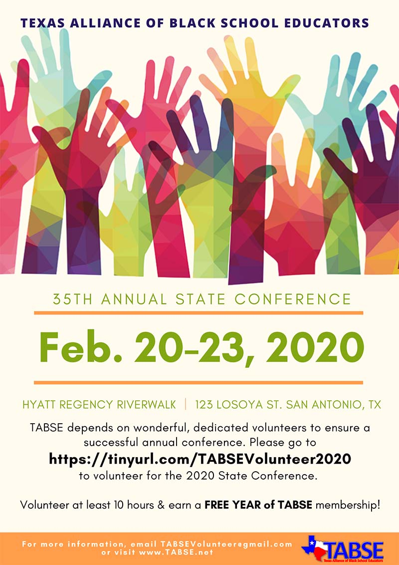 TABSE Conference Volunteers