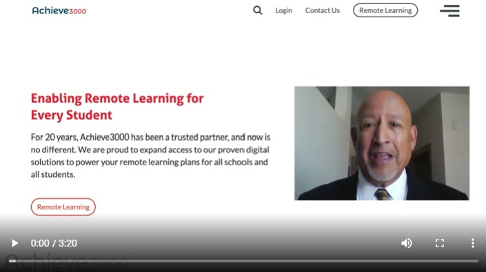 Achieve3000's Free Resources for Remote Learning