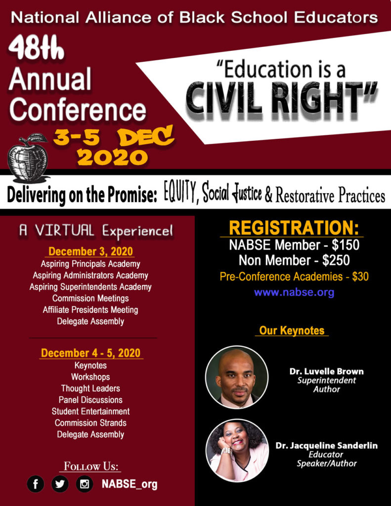 48th NABSE Virtual Conference @ Online Event