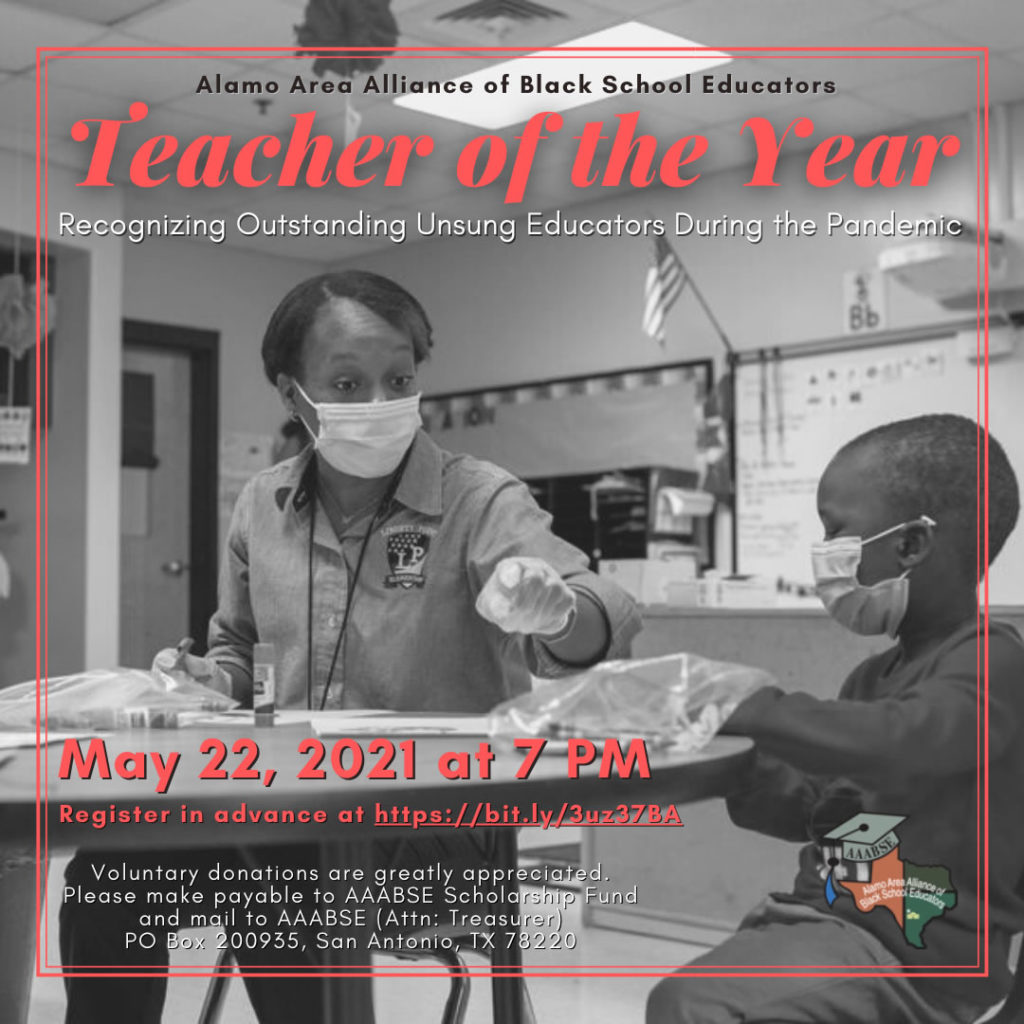 Alamo ABSE Teacher of the Year